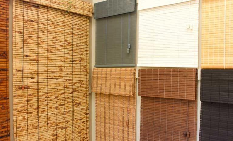 Bamboo Blinds showroom
