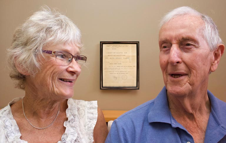 Photo of Bert and Cathy Tilley, founders and directors