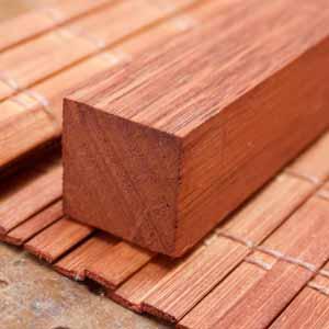Hardwood KD timber