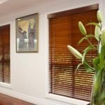 Photo of timber Venetian blinds from Ashwood Blinds