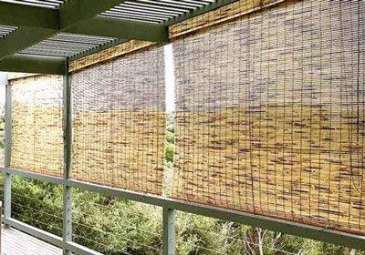 Classic Range Tortoiseshell custom bamboo blinds