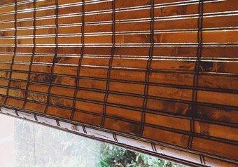 Classic Range custom bamboo blinds in Bali
