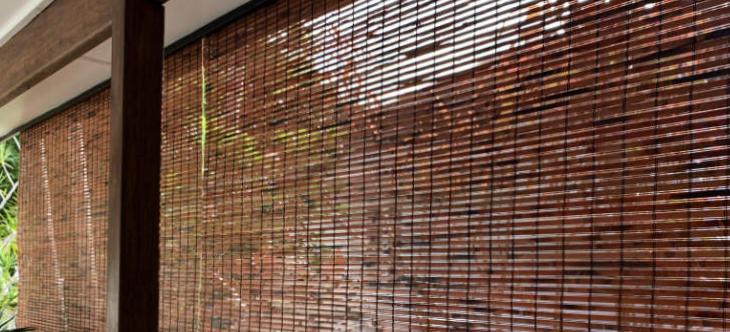 Bamboo handles wet weather